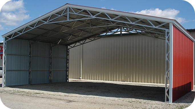 allsteel-truss-building