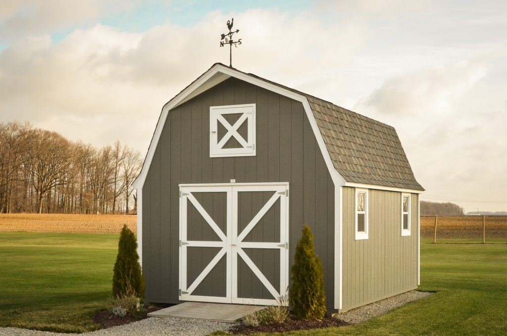 Storage shed options available in Indiana