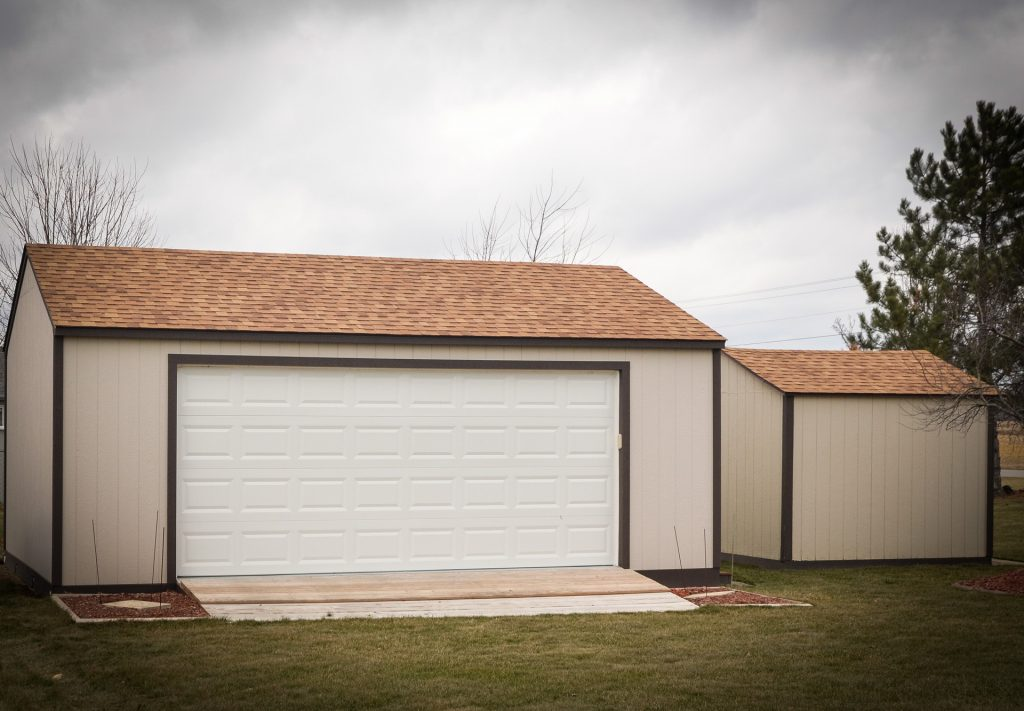 Fort Wayne, Indiana storage shed door option