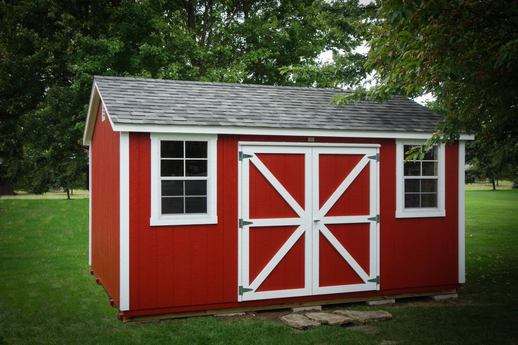 storage shed with windows and doors 4