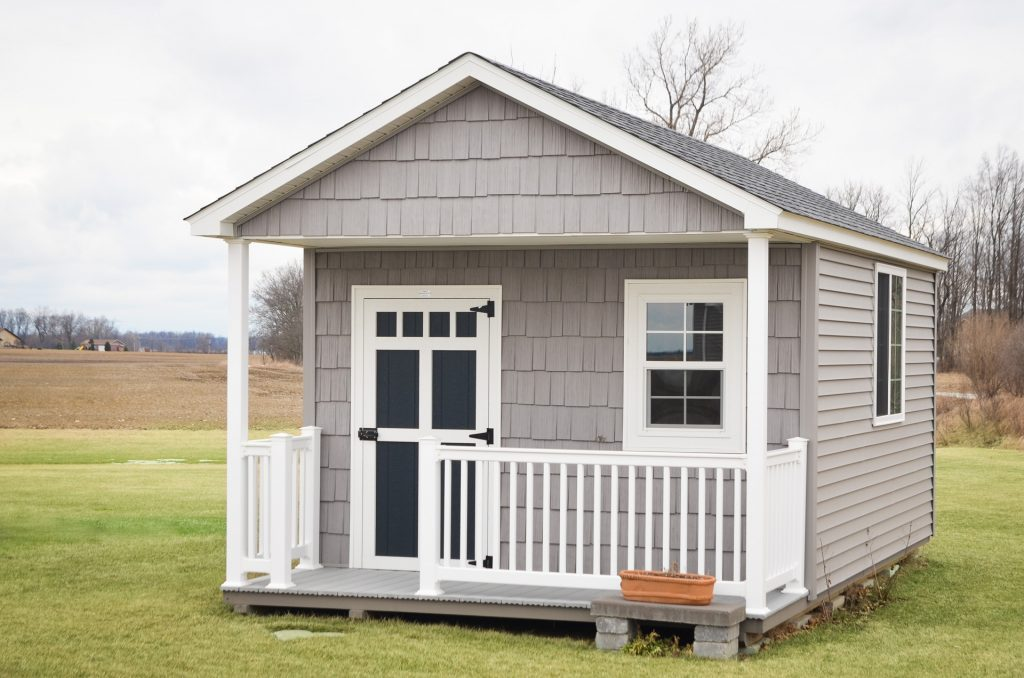 A Fort Wayne, Indiana a-frame shed