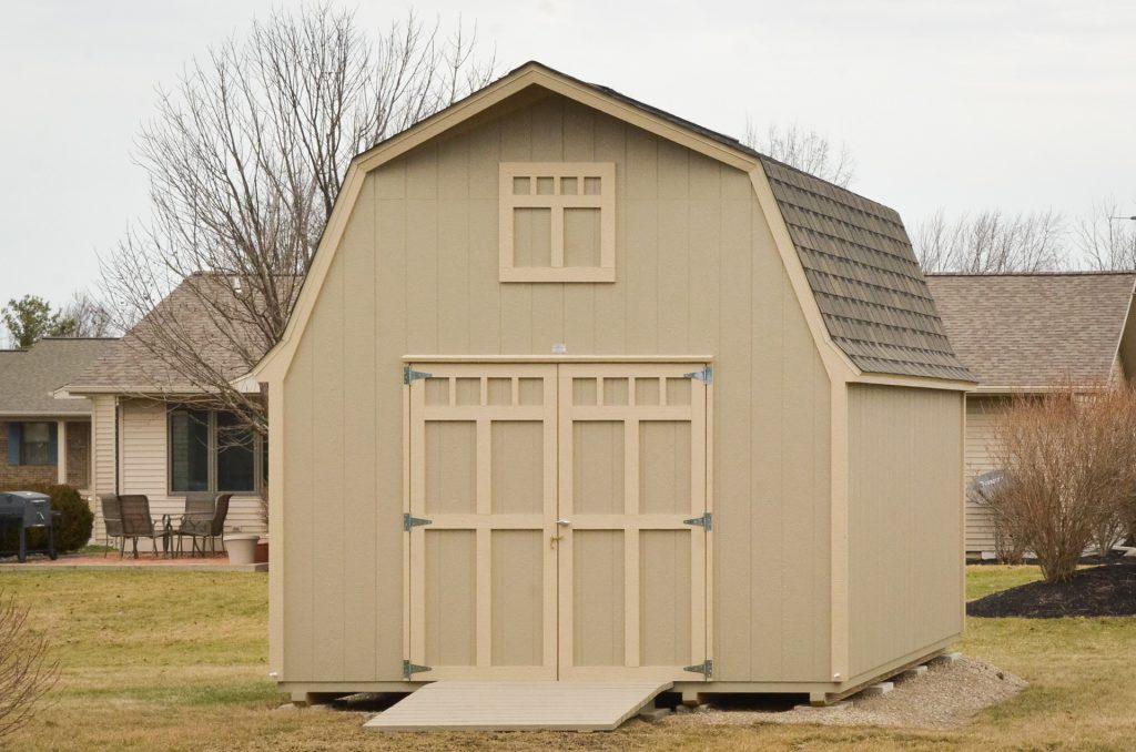 A storage barn near Fort Wayne, Indiana