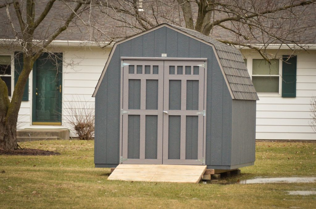 A backyard shed for sale near Fort Wayne, IN